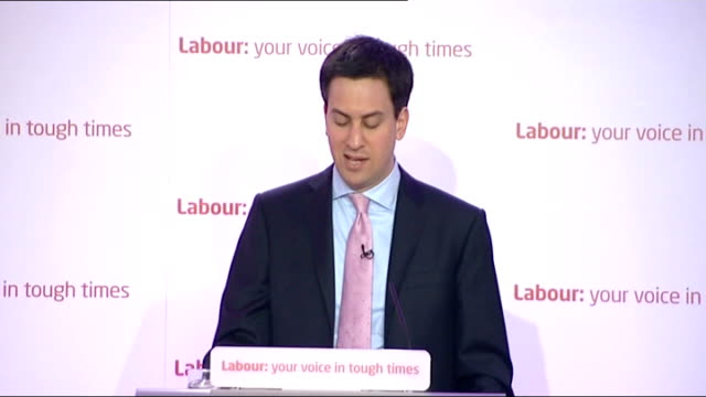 stockvideo's en b-roll-footage met two-thirds of universities submit plans for maximum tuition fees; london: int ed miliband mp speech sot - this unfair and shambolic tuition fee... - ongerechtigheid