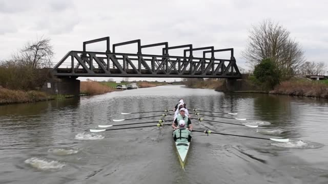 two-time olympic champion james cracknell will become the oldest ever competitor in the history of the boat race when he competes for the cambridge... - oxford england video stock e b–roll