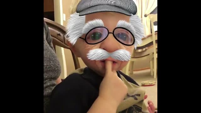 two-year-old milo loves testing new filters, but he didn't appreciate the beard look. filmed in wooster, ohio, milo wasn't shy in dismissing his new... - sorghum stock videos & royalty-free footage