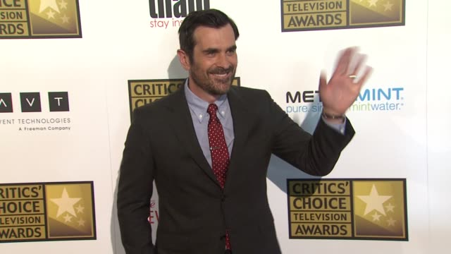 ty burrell at 2012 critics' choice television awards ty burrell at 2012 critics' choice television awar at the beverly hilton hotel on june 18 2012... - ty burrell stock videos and b-roll footage