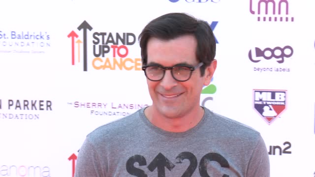 ty burrell at 2012 stand up to canceron 9/7/2012 in los angeles california - ty burrell stock videos and b-roll footage