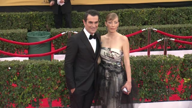 ty burrell at 21st annual screen actors guild awards arrivals in los angeles ca - ty burrell stock videos and b-roll footage