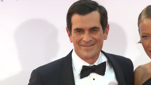 ty burrell at 64th primetime emmy awards arrivals on 9/23/12 in los angeles ca - ty burrell stock videos and b-roll footage