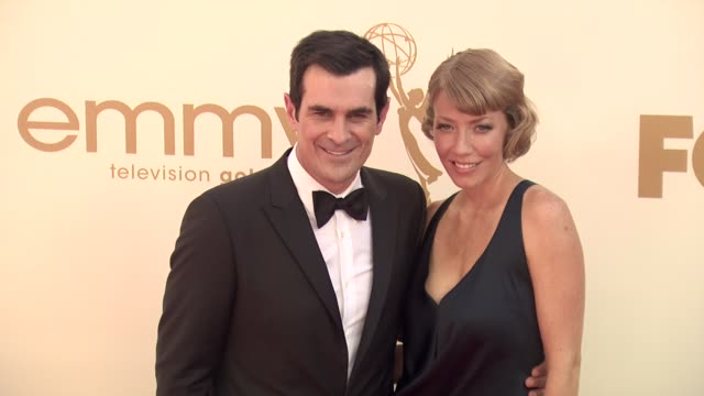 ty burrell at the 63rd primetime emmy awards arrivals part 1 at los angeles ca - エミー賞点の映像素材/bロール