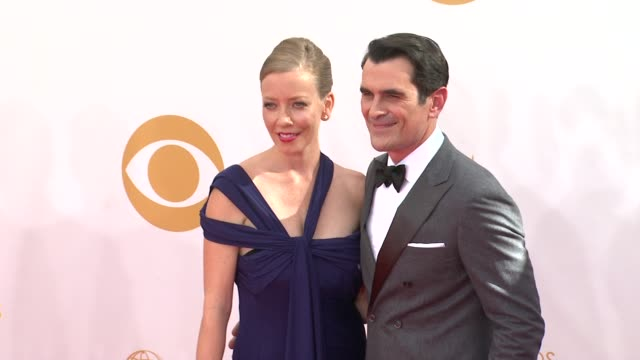 ty burrell at the 65th annual primetime emmy awards - arrivals in los angeles, ca, on 9/22/13. - annual primetime emmy awards stock-videos und b-roll-filmmaterial