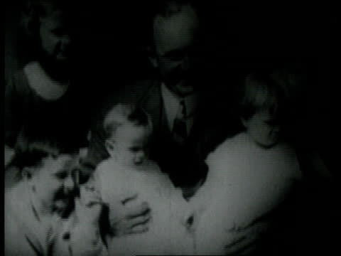 ty cobb sitting and talking with his family - 1926 stock videos & royalty-free footage