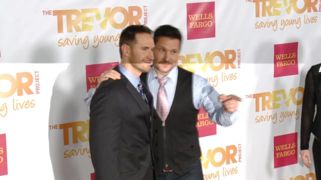 ty herndon at 16th annual trevor project benefit presented by wells fargo in los angeles ca - markenname stock-videos und b-roll-filmmaterial