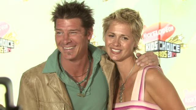vídeos de stock e filmes b-roll de ty pennington at the 2007 nickelodeon's kids' choice awards at ucla's pauley pavilion in los angeles california on march 31 2007 - ty pennington