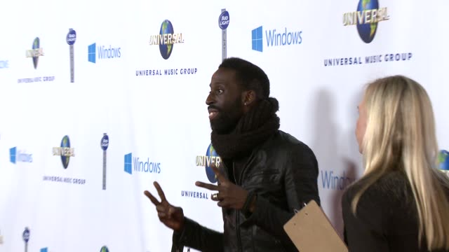 tye tribett at universal music group 2014 post grammy party at the ace hotel theater on in los angeles california - ace stock videos and b-roll footage
