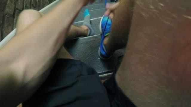Tying Shoes - POV