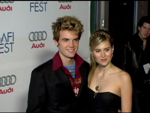 tyler hilton at the 20th century fox's 'walk the line' premiere at the opening night gala of the 2005 afi fest at the cinerama dome at arclight... - 20th century fox stock videos & royalty-free footage