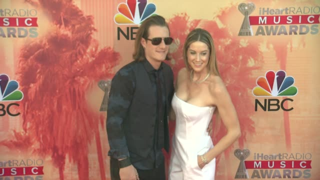 vídeos de stock, filmes e b-roll de tyler hubbard at the 2015 iheartradio music awards red carpet arrivals at the shrine auditorium on march 29 2015 in los angeles california - shrine auditorium