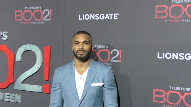 Tyler Lepley at Lionsgate Presents The Los Angeles Premiere of Tyler Perry's 'Boo 2 A Madea Halloween' at LA LIVE on October 16 2017 in Los Angeles...