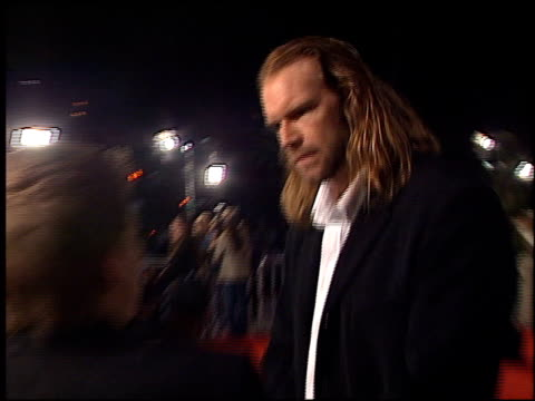 tyler mane at the 'harry potter and the chamber of secrets' premiere on november 14 2002 - potter stock videos & royalty-free footage
