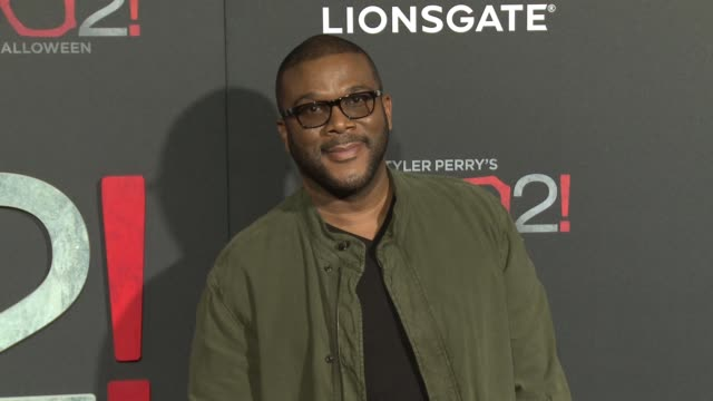 """Tyler Perry at Lionsgate Presents the Los Angeles Premiere of Tyler Perry's """"Boo 2 A Madea Halloween"""" in Los Angeles CA"""