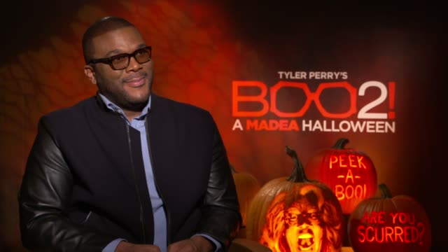 INTERVIEW Tyler Perry on the characters in the film on the Halloween theme the car in the film having a good time at the movie the origin of the...