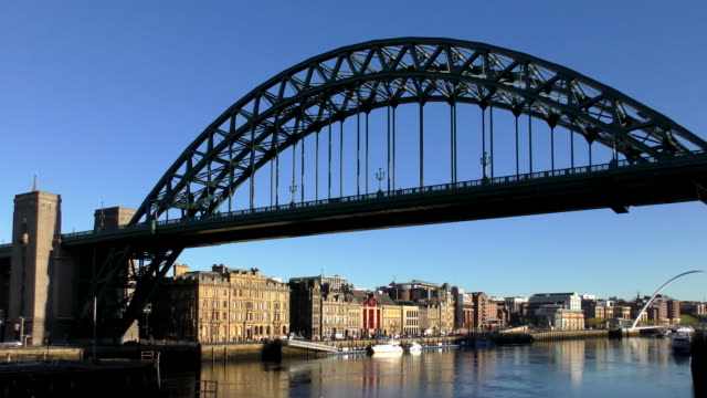 tyne bridge - newcastle, england - monument stock videos & royalty-free footage