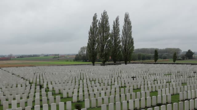 PAN Tyne Cot Cemetery is the largest Commonwealth cemetery in the world with 11956 Commonwealth servicemen of the First World War buried or...