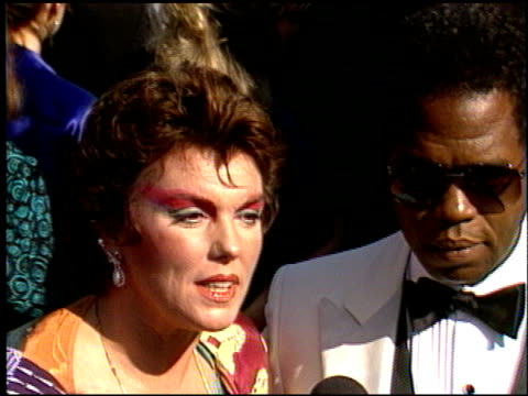tyne daly at the 1986 emmy awards at the pasadena civic auditorium in pasadena california on september 21 1986 - pasadena civic auditorium stock videos & royalty-free footage