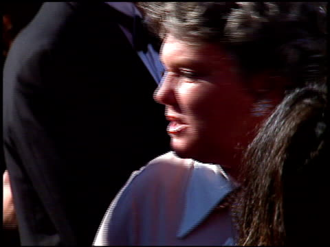 tyne daly at the 1996 emmy awards arrivals at the pasadena civic auditorium in pasadena california on september 8 1996 - tyne daly stock videos and b-roll footage