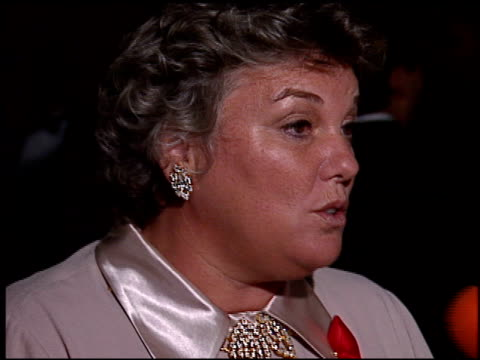 tyne daly at the 1996 emmy awards post at the pasadena civic auditorium in pasadena california on september 8 1996 - tyne daly stock videos and b-roll footage