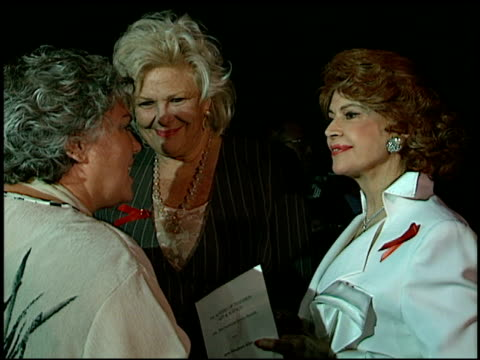 tyne daly at the 1996 emmy nomination party at the marque hotel in westwood california on september 4 1996 - tyne daly stock videos and b-roll footage