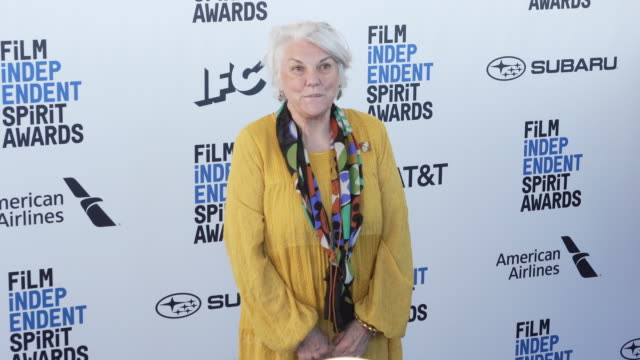 tyne daly at the 2019 film independent spirit awards on february 23 2019 in santa monica california - tyne daly stock videos and b-roll footage