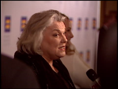tyne daly at the human rights campaign honors barbra streisand at the century plaza hotel in century city california on march 6 2004 - tyne daly stock videos and b-roll footage