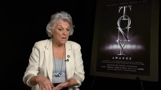 interview tyne daly on how nominations are the best they're quality control on how nominations are more important than the actual award it feels fun... - tyne daly stock videos and b-roll footage