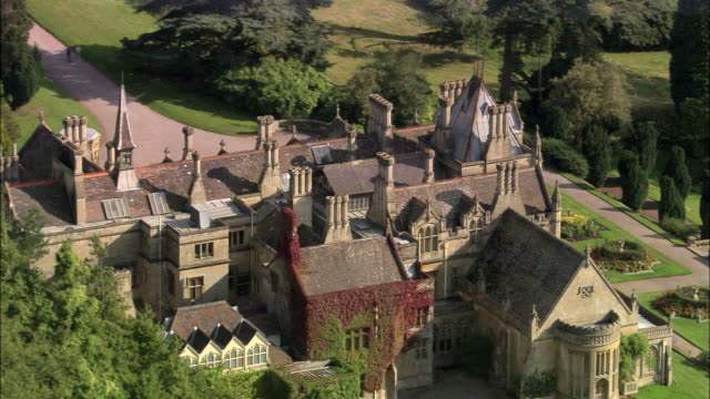 tyntsfield house - tyntesfield stock videos & royalty-free footage