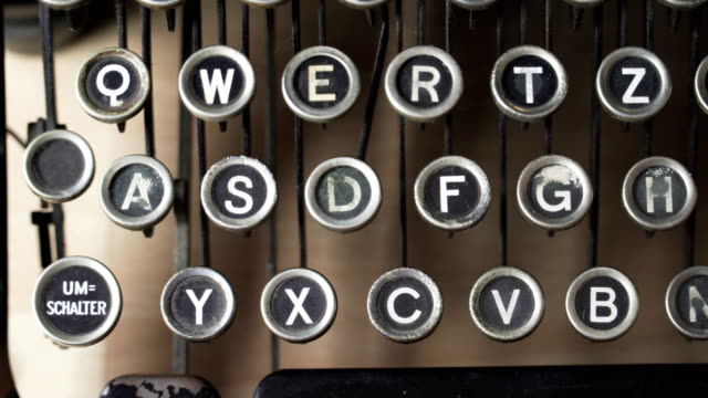 Typewriter Keyboard Videos And B Roll Footage Getty Images