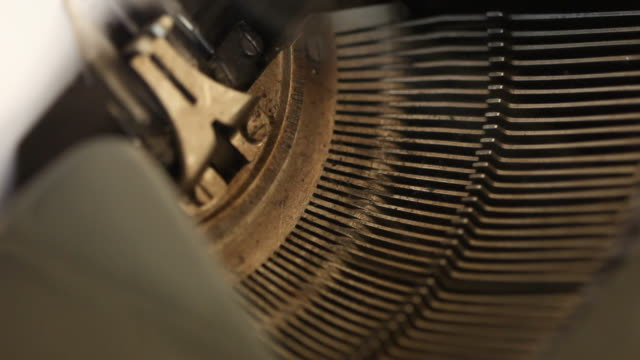 Typewriter Key Strokes (HD 1080)