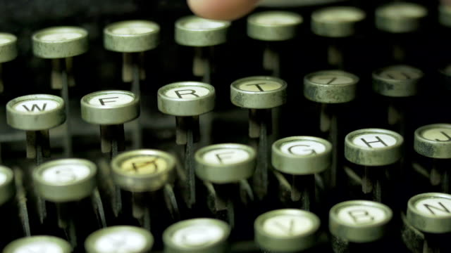 typewriter - slow motion - poetry stock videos & royalty-free footage