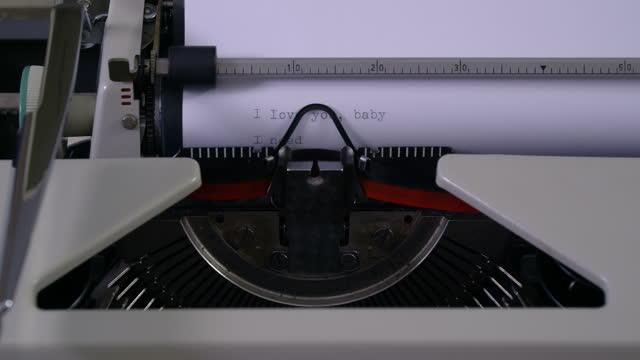 typewriter - file clerk stock videos & royalty-free footage