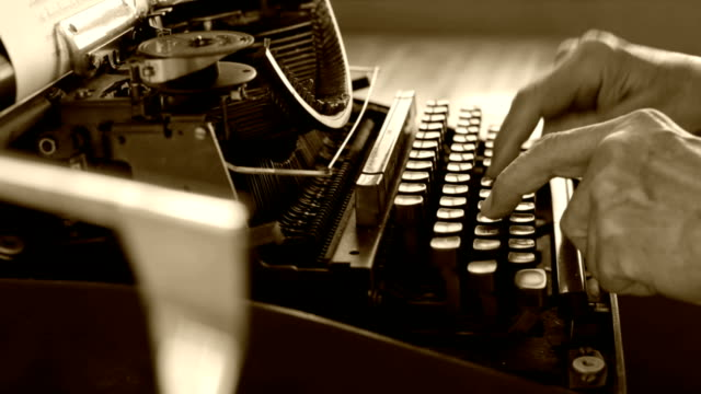 typewriter - mack2happy stock videos and b-roll footage