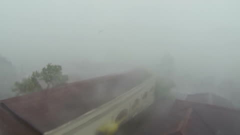 typhoon haiyan violent hurricane eyewall wind and rain - power in nature stock videos & royalty-free footage