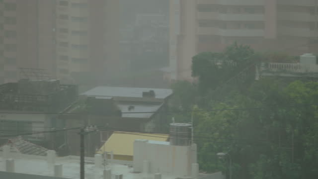 Typhoon in Okinawa