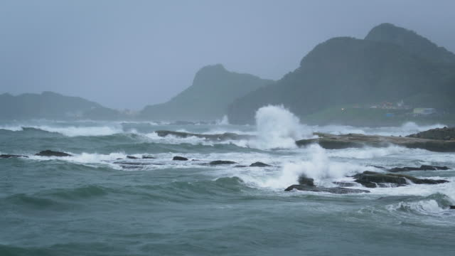 Typhoon on Sea, Taiwan