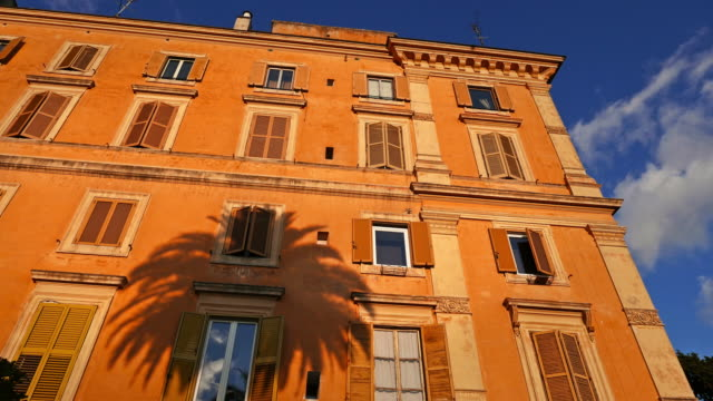 Typical building of Rome