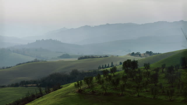 typical tuscany view: chianti and val d'orcia - montepulciano stock videos & royalty-free footage