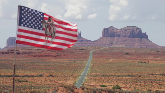 typical view of the monument valley and highway 163 - indigenous north american culture stock videos & royalty-free footage