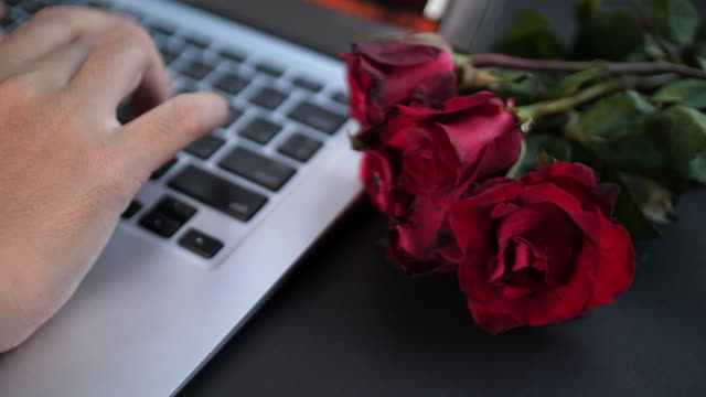 Typing data about valentine's day