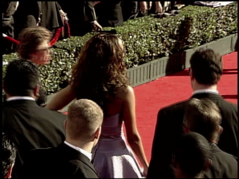 stockvideo's en b-roll-footage met tyra banks at the 2000 academy awards at the shrine auditorium in los angeles, california on march 26, 2000. - 72e jaarlijkse academy awards
