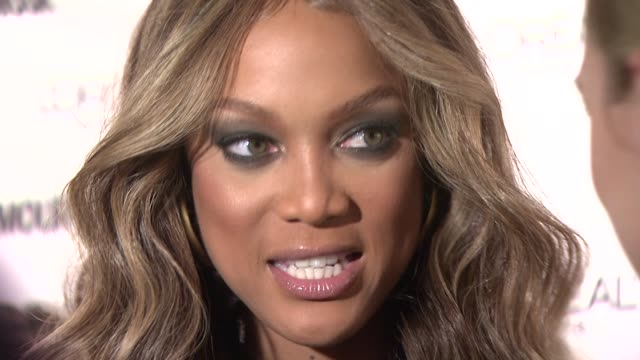 Tyra Banks at the Glamour Magazine Honors the 2008 Women of the Year at New York NY