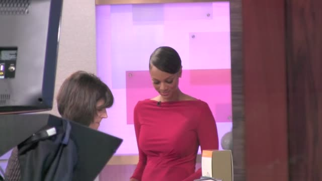 Tyra Banks at the 'Good Morning America' studio in New York on