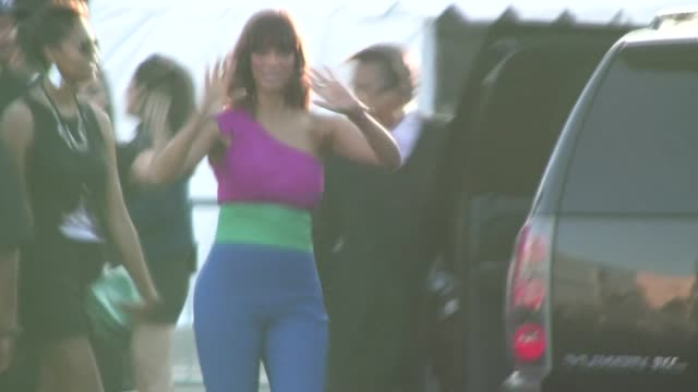 Tyra Banks leaving the 2011 Do Something Awards in Hollywood