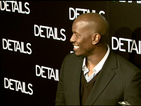 tyrese at the details magazine celebrates 'mavericks 2008' at null in beverly hills california on march 21 2008 - tyrese stock videos & royalty-free footage