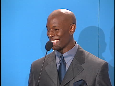 tyrese at the naacp image awards at pasadena civic - tyrese stock videos & royalty-free footage