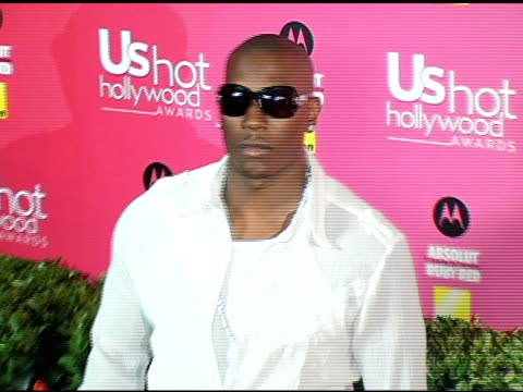 tyrese at the us weekly hot hollywood awards at republic restaurant and lounge in los angeles california on april 26 2006 - tyrese stock videos & royalty-free footage