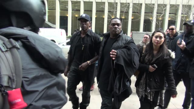 tyrese gibson arrives at siriusxm satellite radio on march 25 2015 in new york city - tyrese stock videos and b-roll footage